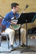 Man playing Banjo