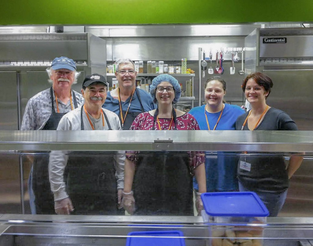 Shelter Meal Volunteers